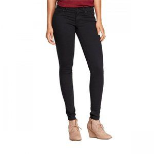 NWT Universal Thread Low Rise Jeggings 6 Black